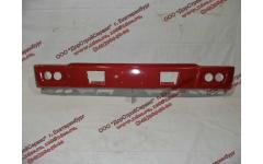 Бампер H красный самосвал металлический